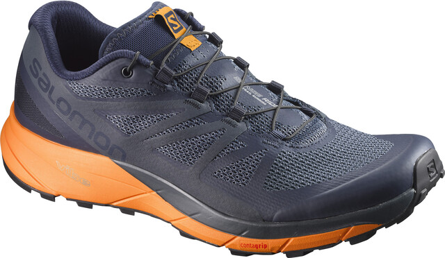 Salomon M's Sense Ride Shoes Navy Blazer/Bright Marigold/Ombre B